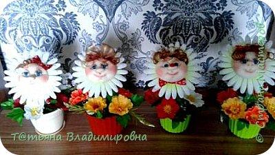 Добрый день, жители СМ! Выношу на на ваше обозрение цветочки. Вдохновилась работами Марии Лариной-  https://stranamasterov.ru/user/256371 фото 3