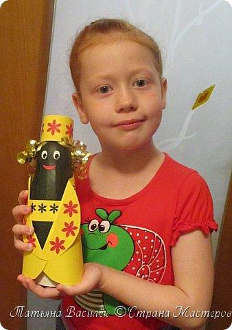 Вот такая Мадам Кабачкова получилась у нас с дочкой:) Поделка сделана на выставку к Празднику Осени. фото 13