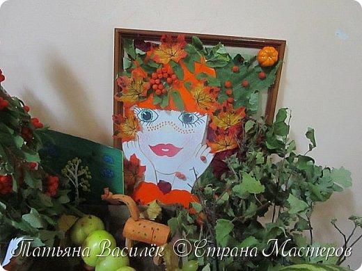 Вот такая Мадам Кабачкова получилась у нас с дочкой:) Поделка сделана на выставку к Празднику Осени. фото 17