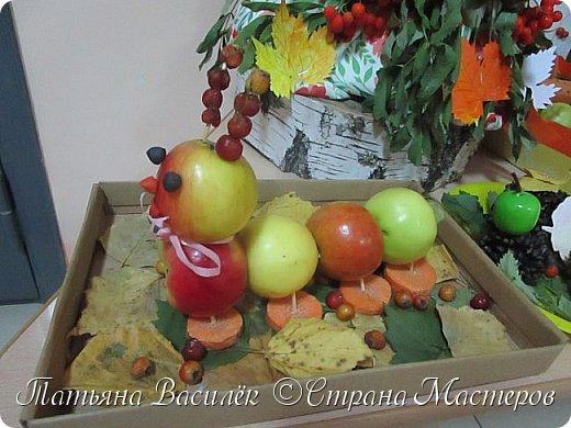 Вот такая Мадам Кабачкова получилась у нас с дочкой:) Поделка сделана на выставку к Празднику Осени. фото 19