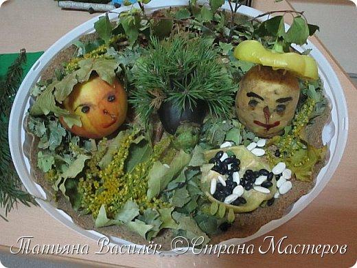 Вот такая Мадам Кабачкова получилась у нас с дочкой:) Поделка сделана на выставку к Празднику Осени. фото 24