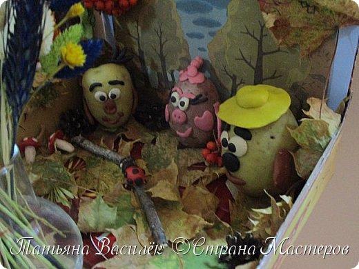Вот такая Мадам Кабачкова получилась у нас с дочкой:) Поделка сделана на выставку к Празднику Осени. фото 34