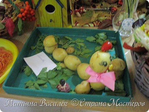 Вот такая Мадам Кабачкова получилась у нас с дочкой:) Поделка сделана на выставку к Празднику Осени. фото 35