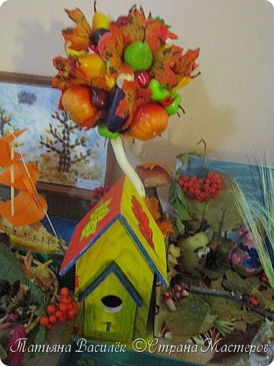 Вот такая Мадам Кабачкова получилась у нас с дочкой:) Поделка сделана на выставку к Празднику Осени. фото 36