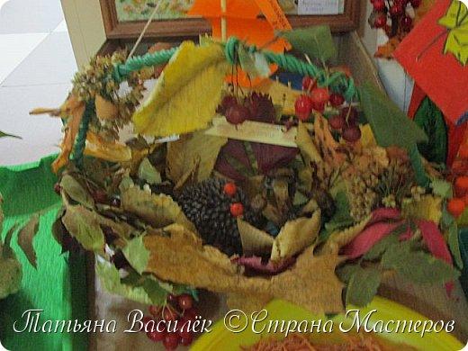 Вот такая Мадам Кабачкова получилась у нас с дочкой:) Поделка сделана на выставку к Празднику Осени. фото 38