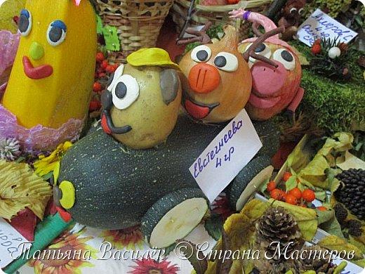 Вот такая Мадам Кабачкова получилась у нас с дочкой:) Поделка сделана на выставку к Празднику Осени. фото 39
