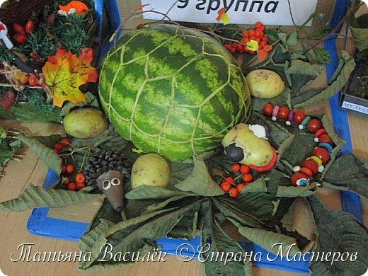 Вот такая Мадам Кабачкова получилась у нас с дочкой:) Поделка сделана на выставку к Празднику Осени. фото 46