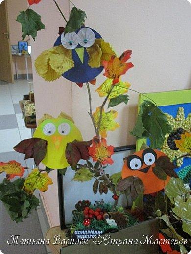 Вот такая Мадам Кабачкова получилась у нас с дочкой:) Поделка сделана на выставку к Празднику Осени. фото 50