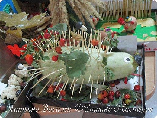 Вот такая Мадам Кабачкова получилась у нас с дочкой:) Поделка сделана на выставку к Празднику Осени. фото 51