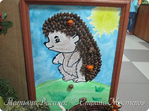 Вот такая Мадам Кабачкова получилась у нас с дочкой:) Поделка сделана на выставку к Празднику Осени. фото 54