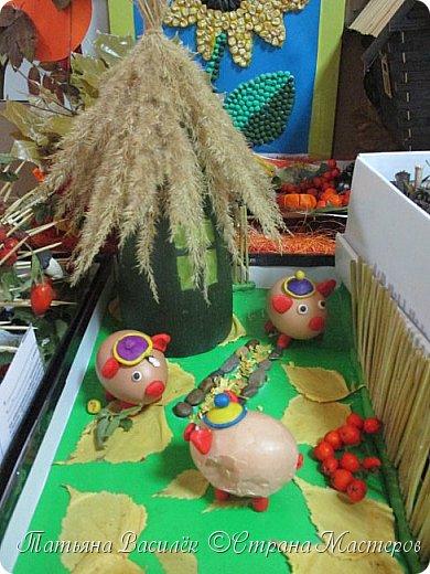 Вот такая Мадам Кабачкова получилась у нас с дочкой:) Поделка сделана на выставку к Празднику Осени. фото 55