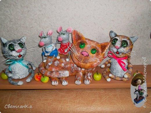 Чтобы коту и мышам было веселее к ним пришли котята. фото 1