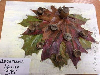 Осенние поделки  фото 16