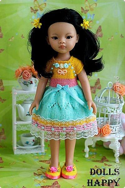 Живет у меня маленькая девочка Лиу. Ее безумно приятно держать в руках, бархатистое тельце хочется трогать и трогать, ее черные волосы пахнут шоколадом, а глазки трогательные и нежные. В кукол Паола Рейна невозможно не влюбиться.  фото 2