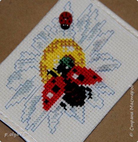 Здравствуйте!!! В память об уходящем лете сделала такие карточки)) Вышивка крестом.  Сегодня я раздаю долги )))))  Поэтому,карточки для Полины      http://stranamasterov.ru/user/429450       , Иришки (Ириска 2012)     http://stranamasterov.ru/user/191152        , Гульназ        http://stranamasterov.ru/user/350589      ,если они им понравятся! Вышитые карточки будут ещё обязательно!)) фото 11