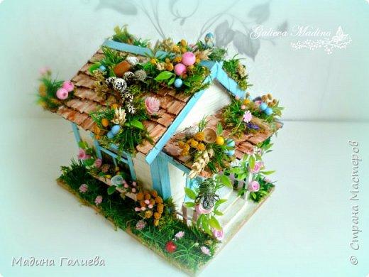 Всем привет! Спешу представить свою новую работу домик в миниатюре!!! Домик послужит не только украшением интерьера и оригинальным подарком, он также функциональный и светится как небольшой ночник. Все детальки выполнены вручную.  фото 8