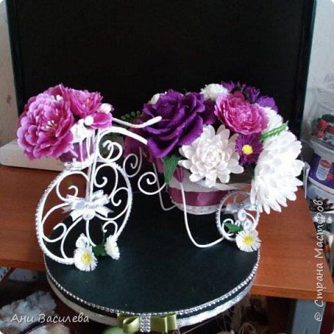 Композиция от цветя фото 3