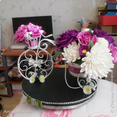 Композиция от цветя фото 2