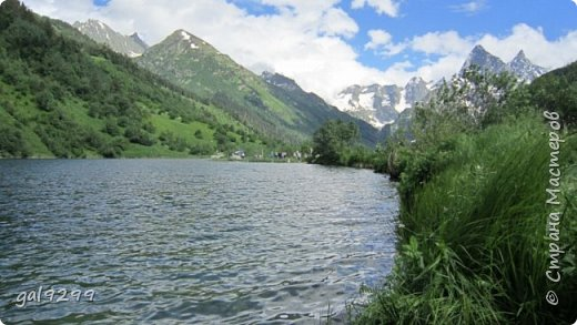 Домбай. Озеро Туманлыкель.  фото 1