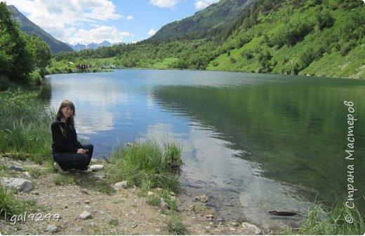 Домбай. Озеро Туманлыкель.  фото 12