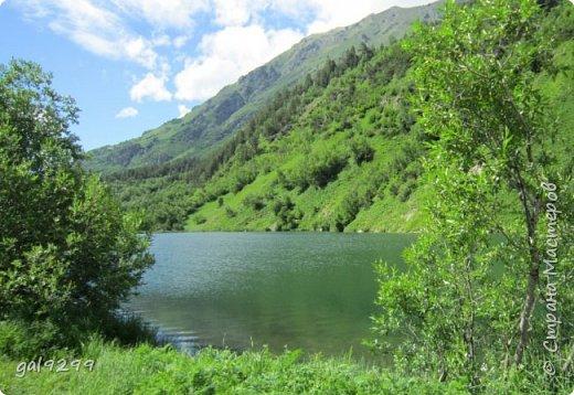 Домбай. Озеро Туманлыкель.  фото 4