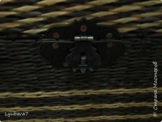 Приветствую всех жителей Страны! Наконец-то доплела свой сундук!!!!! Когда-то впечатлилась работой Ксении68 http://stranamasterov.ru/user/113203, и решила, во что бы то не стало, соорудить нечто подобное.  фото 7