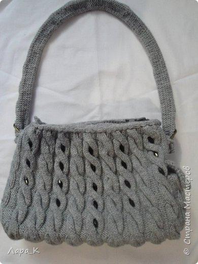 Сумки (вязание) фото 2