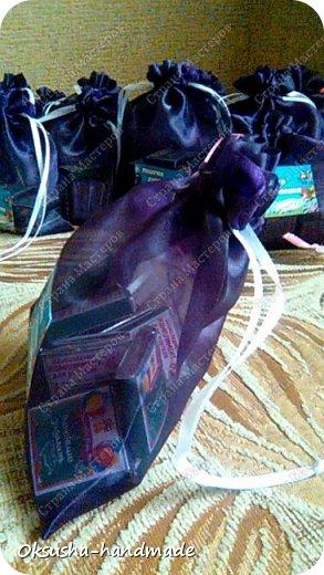 Мешочки шоколадного настроения для учителя фото 6