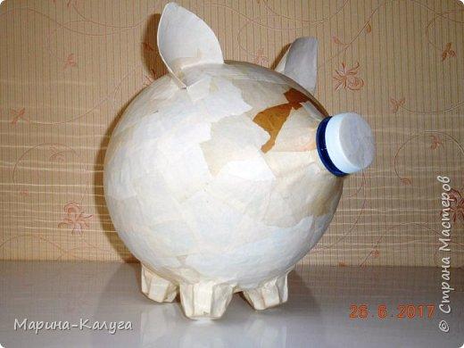 Доброго времени суток всем жителям Страны!Благодаря МК Наташи Грин у меня появилась такая свинка. фото 3