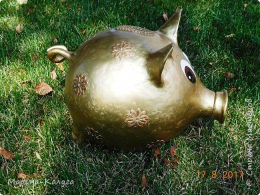 Доброго времени суток всем жителям Страны!Благодаря МК Наташи Грин у меня появилась такая свинка. фото 8