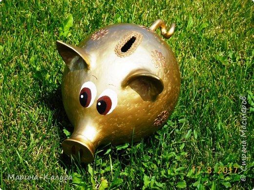 Доброго времени суток всем жителям Страны!Благодаря МК Наташи Грин у меня появилась такая свинка. фото 11