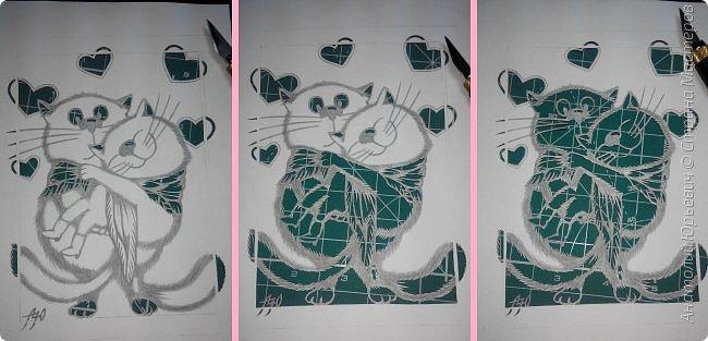 """- Всем добрый день! Вашему вниманию новая открытка которая порадует не только детей, но и взрослых. - Эскиз был выполнен, изменён и доработан под """"вырезалку"""" по работе детского художника-иллюстратора Ирины Зенюк. - Размер 12х16см. фото 2"""