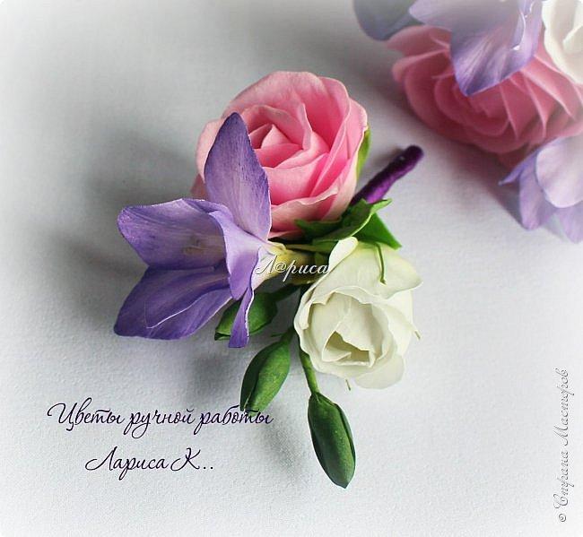 Свадебный набор в фиолетово-сиреневом цвете. фото 9