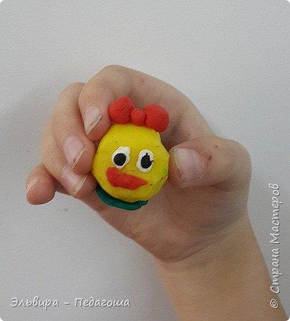 Вот и первое знакомство первоклашек с пластилином! Встречайте, любимый персонаж во всей своей красе!  фото 11
