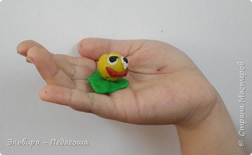 Вот и первое знакомство первоклашек с пластилином! Встречайте, любимый персонаж во всей своей красе!  фото 3