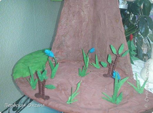 Доброе утро, дорогая страна мастеров!!!! Вот мое долгожданное сезонное дерево для своей любимой группы детского сада! Долго вынашивала эту идею и все не как не могла собраться с силами  и ее сделать. Ну конечно же фетр не из дешевых и нужно было из чего-то сделать основу.  фото 8