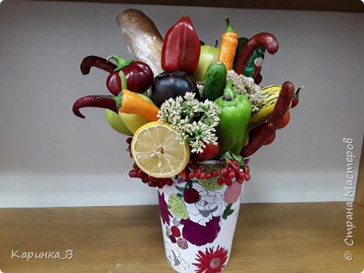 Овощной букет фото 5