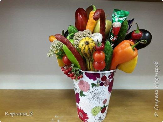 Овощной букет фото 4