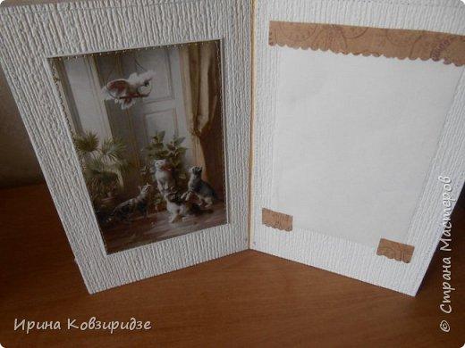 """""""Кошачья серия"""" Три открытки. Прострочены. Картинки- распечатка на лазерном принтере. Кружева. фото 12"""