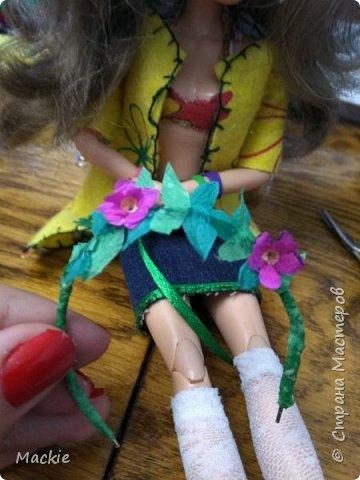 Всем привет:) Сегодня я вам покажу как сделать венок для куклы,из подручных материалов всего за 15 минут:) фото 14