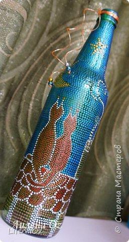 Самые первые бутылочки. Проба кисти. так сказать... фото 2