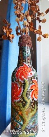 Самые первые бутылочки. Проба кисти. так сказать... фото 5