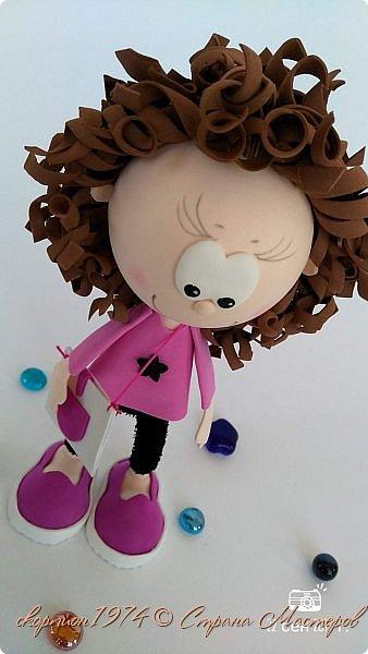 Всем добрый вечер! Давно хотелось показать Вам куколок из фома, которых делает моя дочка Рита на занятиях в студии под руководством мастера Елены. фото 1