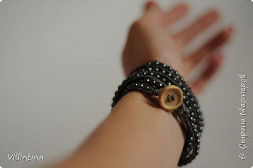 Мастер-класс: браслет Чан Лу с бусинами гематита