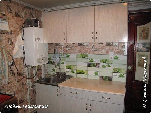 Таким стал кухонный гарнитур после реставрации. фото 1
