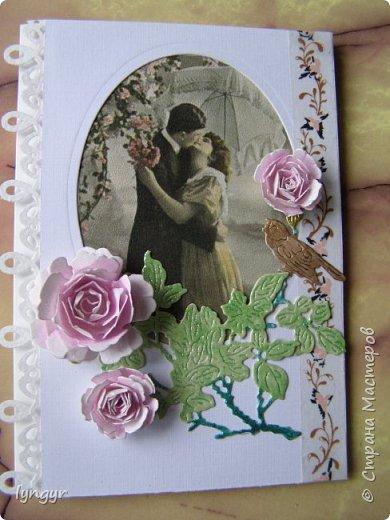 Открытки свадебные винтажные фото 9