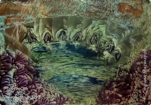 """""""Пещеры, отражение"""" Формат А4..  фото 5"""