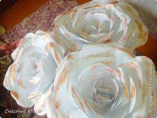 Большие розы для девичника фото 5