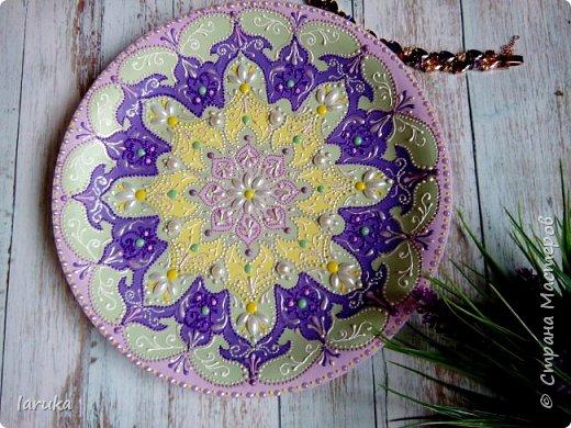Цвета у тарелок совсем не сентябрьские, но все они расписаны в сентябре :)  фото 8