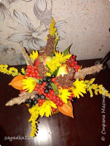 Мой первый опыт создания цветочной композиции фото 3